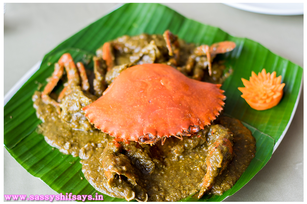 Gajalee Crab Green Chilli Sauce 1