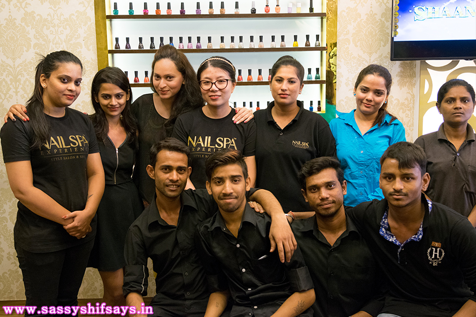 The Awesome Team at Nail Spa Experience