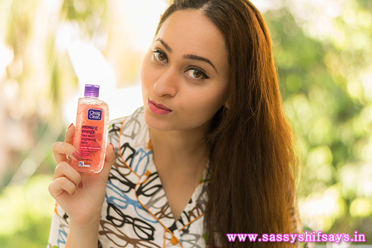 Clean and Clear Morning Energy Face Wash Review