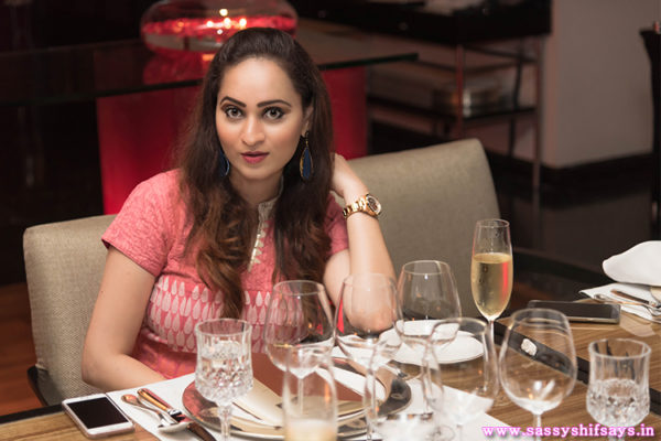 Royal Dining At Jamavar, The Leela With Fratelli Wines