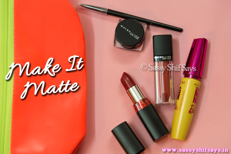 Make It Matte Cosmetics Kit for Monsoons by Maybelline New York India