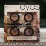 ELF Cosmetics 5 Piece Eyeshadow Set Review