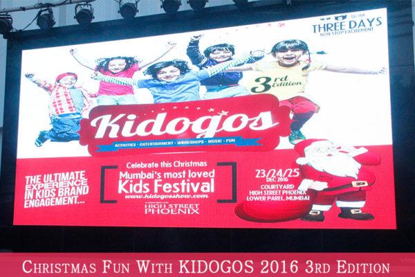 Kidogos 2016 Kids Festival at Christmas