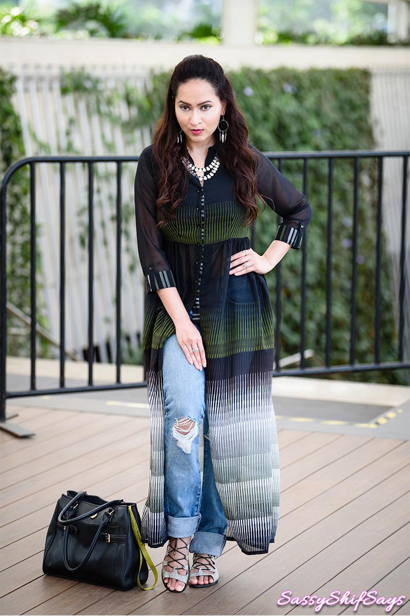 Lakme Fashion Week 2017 Day 5 my Sassy OOTD with Biba Designs
