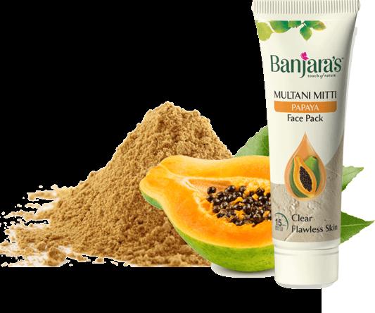 The Multani & Orange Face Wash Banjara's
