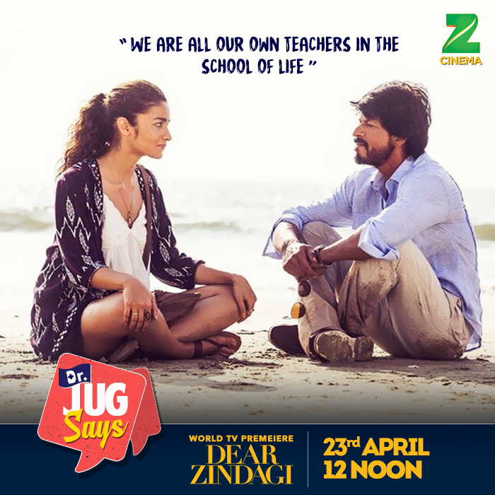 The World Television Premiere of Dear Zindagi on 23rd April at 12 PM on Zee Cinema