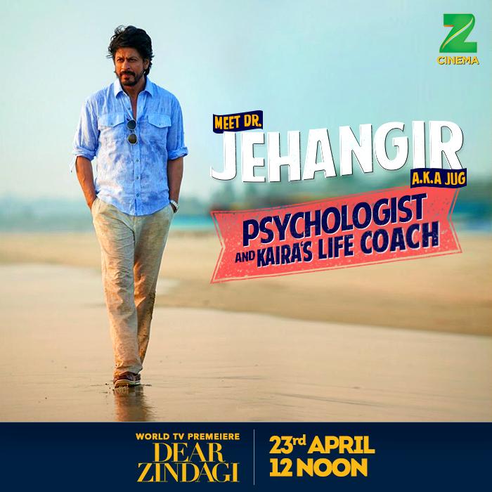Dear Zindagi Shahrukh Khan Dr. Jehangir
